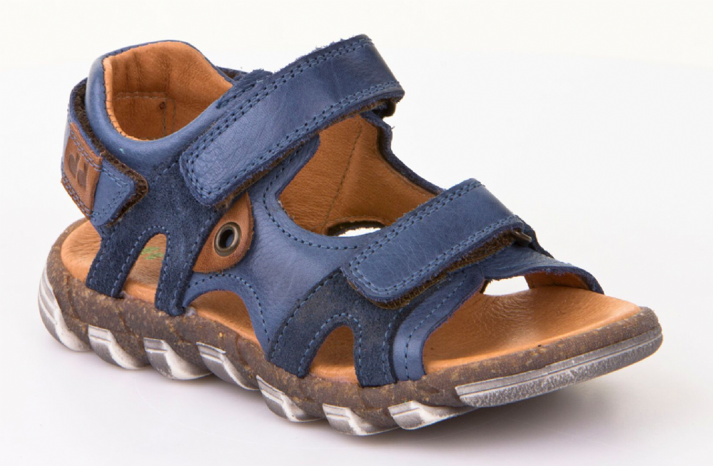 f002bd256407 Froddo Childrens Shoes G3150108-1 Denim Blue Sandals